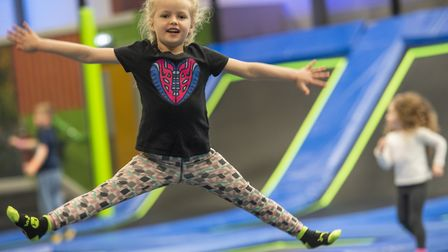 The old Bounce trampoline park in Ipswich will soon reopen as Jump In, it has been announced Pictur