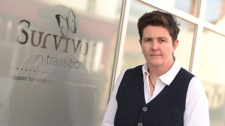 Fiona Ellis, co-founder of Survivors in Transition Picture: SARAH LUCY BROWN