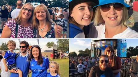 Looking back at your photos from when Ed Sheeran performed at Chantry Park over 4 nights in 2019 Pi