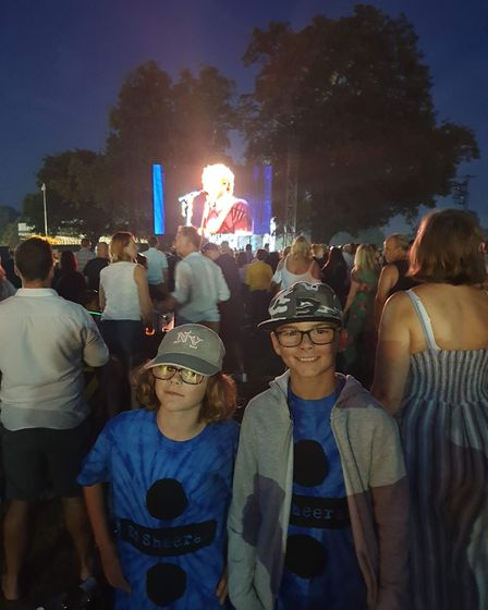 Georgina Andrew's taking her children to see their first concert Picture: GEORGINA ANDREWS