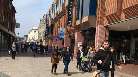 Can Debenhams in Ipswich be saved? Picture: JUDY RIMMER