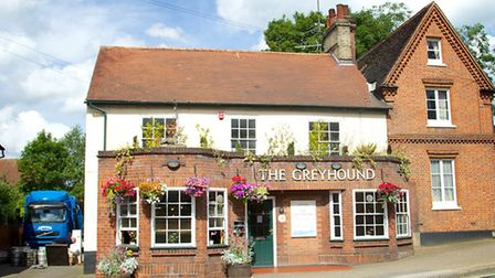 The Greyhound in Ipswich has been praised for its social distancing measures. Picture: THE GREYHOUND
