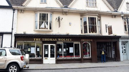 The Thomas Wolsey Picture: CHARLOTTE BOND