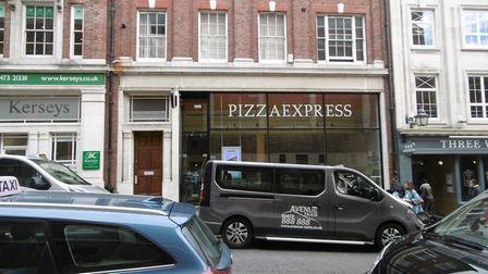 Pizza Express in Lloyds Avenue, Ipswich. Picture: DAVID VINCENT