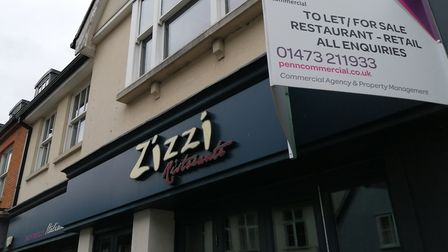 The Zizzi restaurant in Ipswich is no longer listed on the chain's website Picture: ARCHANT
