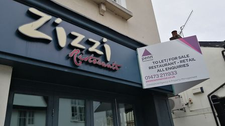 Signs have gone up indicating on the Zizzi's in Ipswich Picture: ARCHANT