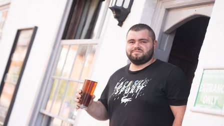 The Black Horse in Ipswich has now reopened, with new tenant James Keegan Picture: SARAH LUCY BROWN