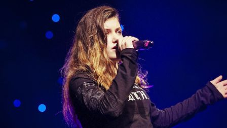 Roma Manteiga-Nicholson, has released a song to raise awareness about self-harm. Picture: JON TURNER