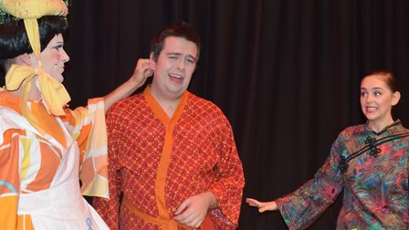 The Dennis Lowe Theatre Company performing Aladdin at Felixstowe's Spa Pavilion in 2017. Picture: SU