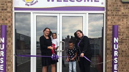 The new Twizzle Tops Nursery in Cavendish Street opened on Wednesday, September 2. Picture: TWIZZLE
