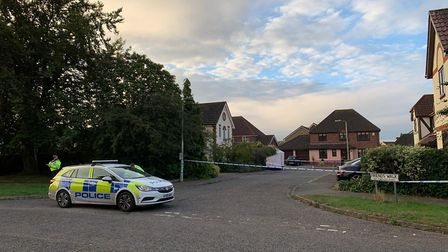 A 15-year-old boy who was shot on the Grange Farm estate in Kesgrave yesterday remains in a critical
