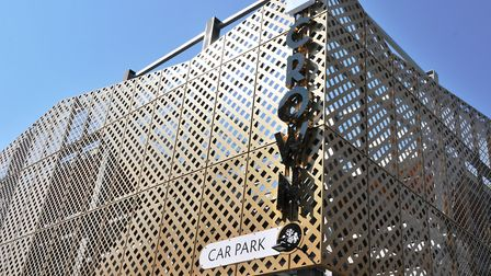 Opening hours at the Crown car park have been extended. Picture: IPSWICH BOROUGH COUNCIL