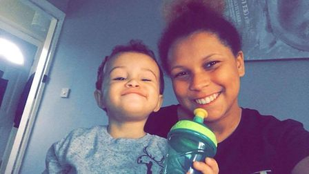 Inquests into the death of Kia Russell, 19, and her son Kamari, two, have concluded Picture: Faceboo