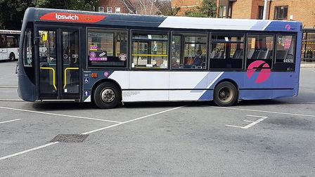 The number 59 bus heads out to Rushmere. Picture: PAUL GEATER