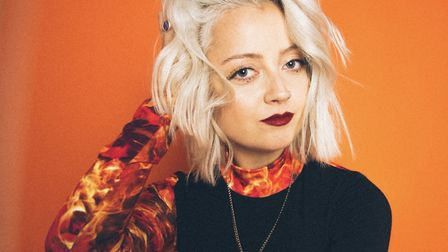 Caswell, Suffolk's rising star, who has spent lockdown writing new material Photo: Gabby Sep