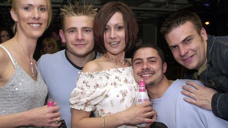 Were you caught on camera at Pals in 2002? Picture: LUCY TAYLOR/ARCHANT