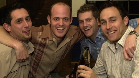 Friends sharing a weekend drink at Pals in Ipswich Picture: LUCY TAYLOR/ARCHANT