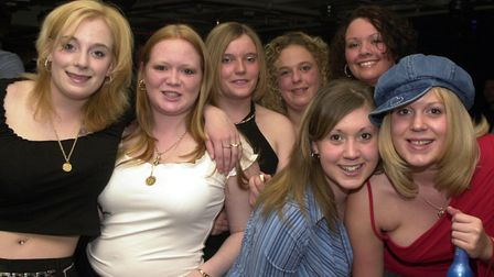 Some of the crowds enjoying a night out at Pals in 2002 Picture: LUCY TAYLOR/ARCHANT
