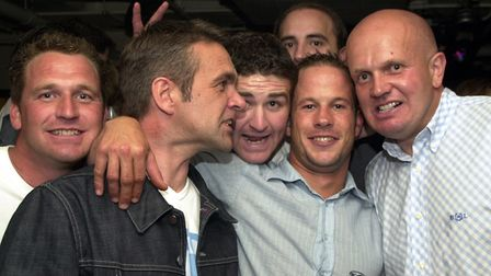Getting together with mates at Pals in Ipswich Picture: LUCY TAYLOR/ARCHANT