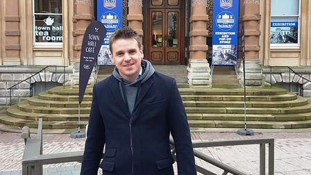 Ipswich MP Tom Hunt is backing calls for the BBC licence fee to be abolished. Picture: PAUL GEATER