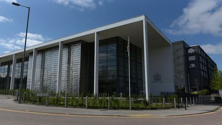 Mantas Gineitis, of Ipswich, pleaded not guilty to burglary and stealing cash at a house in Berners