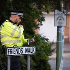 A teenager remains in critical condition in Addenbrooke's Hospital after being shot on his way to sc