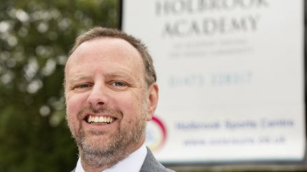 Tom Maltby, the new headteacher of Holbrook Academy. Picture: ANTHONY CULLEN