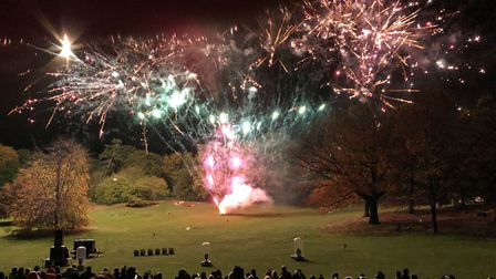 Thousands of people were expected for Ipswich's Christchurch Park fireworks display - but it has bee