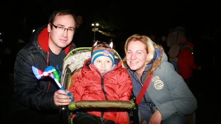 Families enjoyed last year's Christchurch Park fireworks in Ipswich. The event has been cancelled in