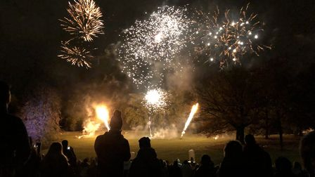 Coronavirus has forced the cancellation of this year's Christchurch Park fireworks in Ipswich. Pictu