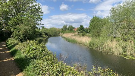 The countryside walks around Sproughton were among elements the village wants to protect in the neig