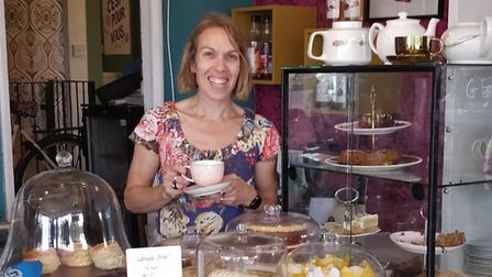 Cuppa in Felixstowe, which is owned by Sarah Fitch Picture: CUPPA