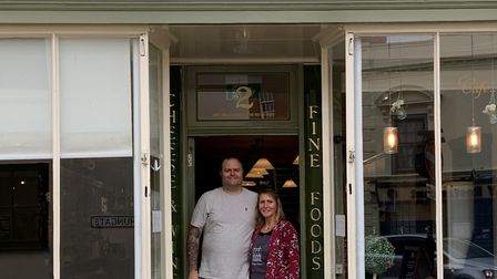 Baileys Delicatessen in Beccles, which is owned by Paul and Suzanne Buck Picture: BAILEYS DELICATES