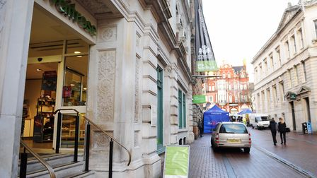 The Waitrose in Ipswich Corn Exchange is to close on December 6. Picture: LUCY TAYLOR
