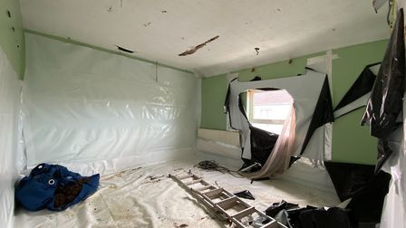 The property on Gibbons Street, Ipswich, was previously used as a cannabis farm. Picture: GOLDINGS