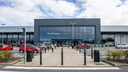 Waitrose and John Lewis at Futura Park, Ipswich Picture: SARAH LUCY BROWN
