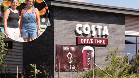 Are there too many Costa Coffee's in Ipswich? Picture: SARAH LUCY BROWN