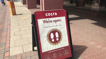 Costa has a number of stores in Ipswich, including one in Debenhams, and more than 20 concessions. P