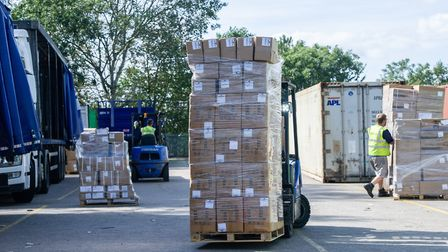 Imorex Shipping Services HQ in Felixstowe Picture: SARAH LUCY BROWN