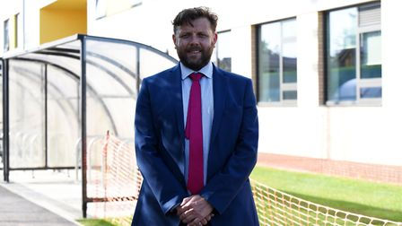 Headteacher Jamie Daniels said pupils and staff alike are delighted with the new building Picture: