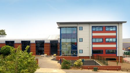 Fred Olsen's new headquarters on Whitehouse Road, Ipswich. Picture: DAVID LAM