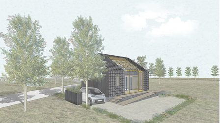 The proposed EcoLab, which will be part fo the DigiTech centre at Adastral Park in Martlesham. Pictu