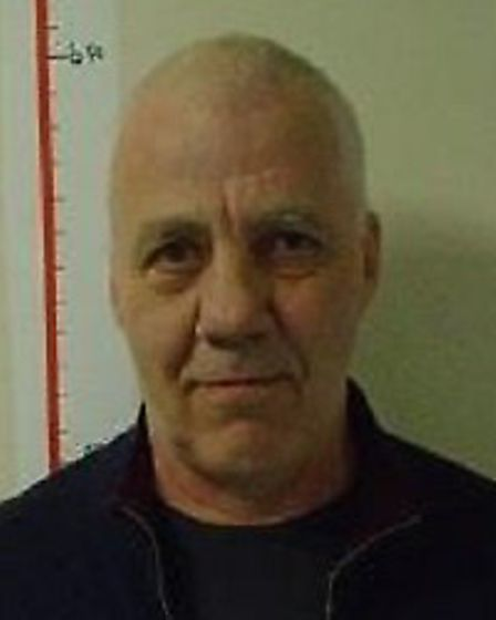 Gerry Sargeant, 61, a prisoner at Hollesley Bay, is wanted by Suffolk police Picture: SUFFOLK CONSTA