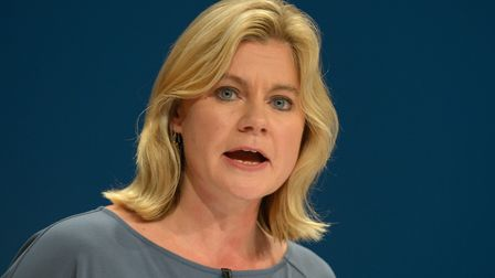 Former education secretary Justine Greening. Photograph: Ben Birchall/PA Images.
