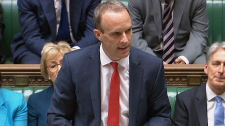 Dominic Raab makes a statement to MPs in the House of Commons on the publication of the long-awaited