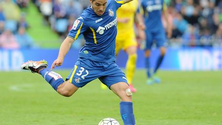 Buendia during his time at Getafe. Picture: Gregorio Lopez/PA Images