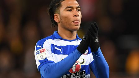Danny Loader featured as a late substitute as Reading drew 2-2 at Carrow Road last season Picture: J