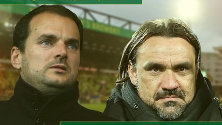 Is PSG prospect Loic Mbe Soh being monitored by Norwich City sporting director Stuart Webber, left,
