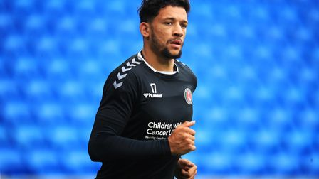Charlton Athletic striker Macauley Bonne has been linked with a move to Norwich City. Picture: Adam