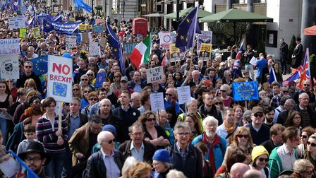 The people must take back control of Brexit, says The New European. Picture: Jay Shaw Baker/NurPhoto